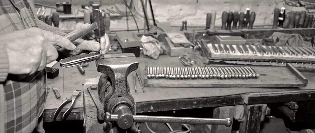 taschenmesser in handarbeit